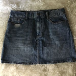 Gap Size 6 Jean Mini Skirt